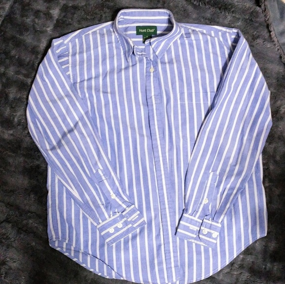 eca06024 Hunt Club Tops | 3 For10 Blue And White Pin Striped Top | Poshmark